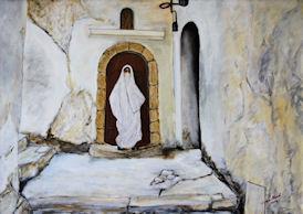 Femme de la Casbah d'Alger