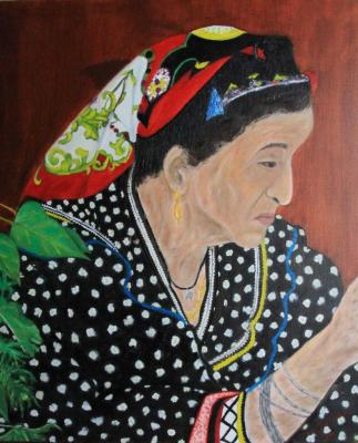 La vieille Kabyle