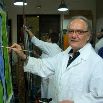 Jean-Luc Gaillard en atelier